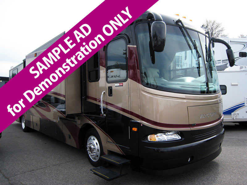 2007 Coachmen Sportscoach Encore SAMPLE AD