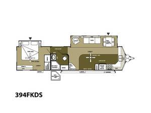 2013 Wildwood Lodge 394FKDS