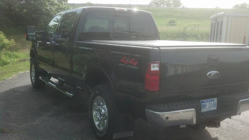 2008 Ford F-350 Lariat crew cab w/short bed