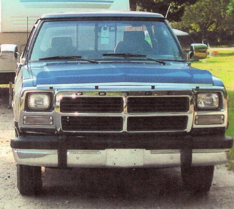 1991 Dodge Ram D250