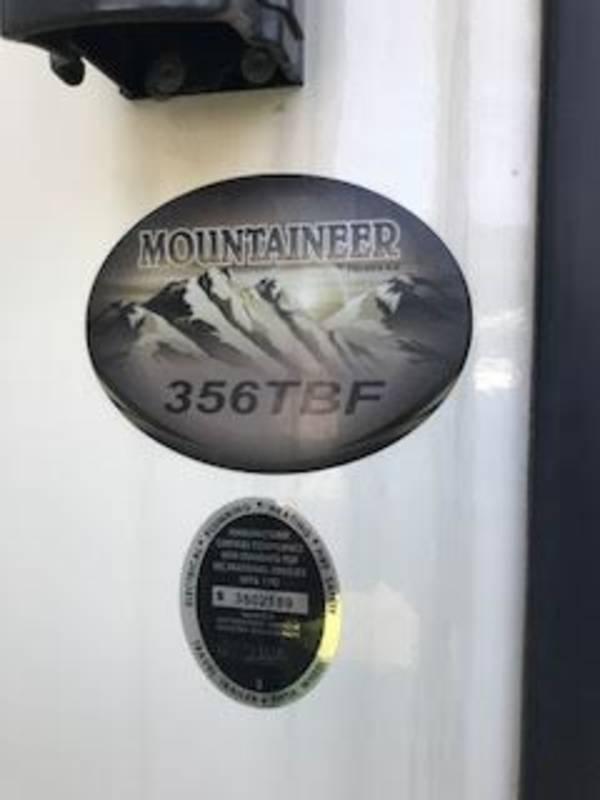 2014 Keystone Mountaineer 356TBF