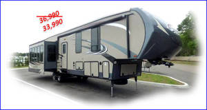 2015 Forest River Sandpiper 355RE
