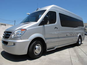 2013 Airstream Interstate 3500 REAR ELECTRIC SOFA