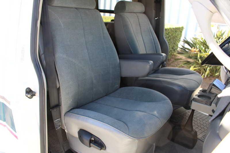 Luxury The Winnebago Fuse Is The First Fuel Efficient Ford Transit  Coleman Mach 10 Powersaver Low Profile Roof AC With 1,800 Watt Heat Strip, Slide Out Cover, Swivel Passenger Cab Seat With Residential Height Cushion, Additional Coach Battery, 10