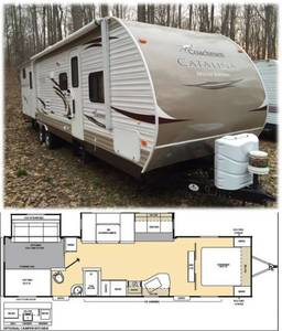 2013 Coachmen Catalina Deluxe Edition 32BHDS
