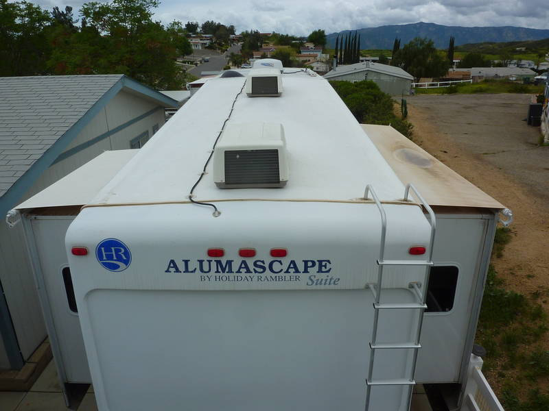 2008 Holiday Rambler Alumascape 36REQ
