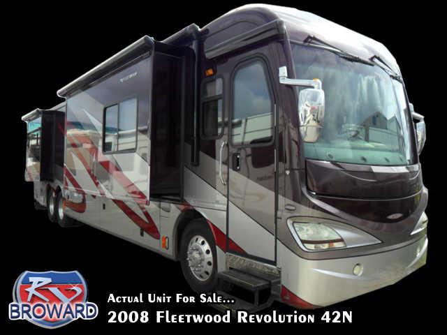 2008 Fleetwood Revolution 42N