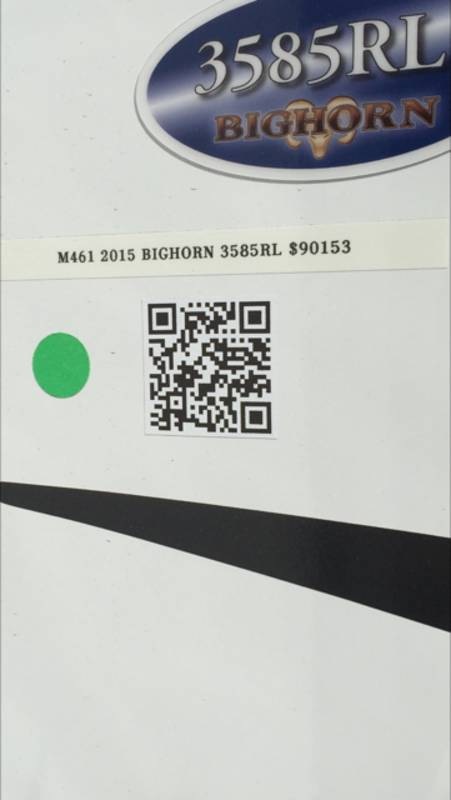 2015 Heartland Bighorn 3585RL