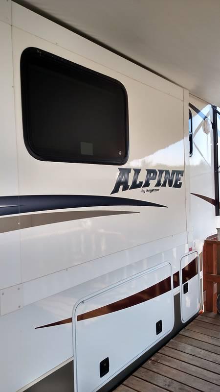 2013 Keystone Alpine 3720FB