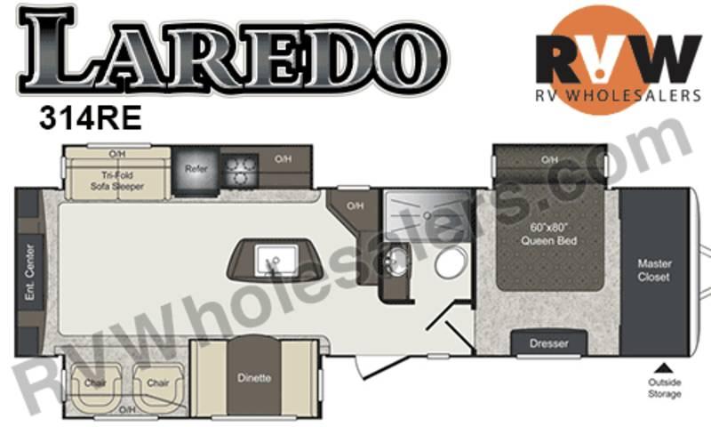 2015 Keystone Laredo 314RE