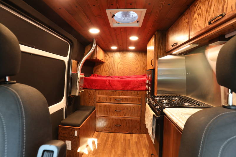 Dodge Build And Price >> 2016 Dodge Ram Promaster 1500 Adventure Camper Van, Conversion Van RV For Sale By Owner in ...