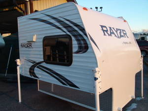 2016 Travel Lite Rayzr FB Front Bed