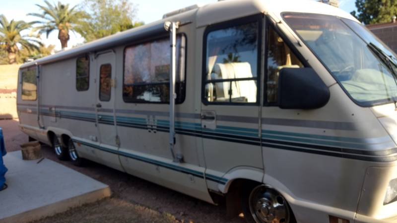 Chevrolet Dealers Az >> 1989 Winnebago Elandan 37RQ, Class A - Gas RV For Sale By ...