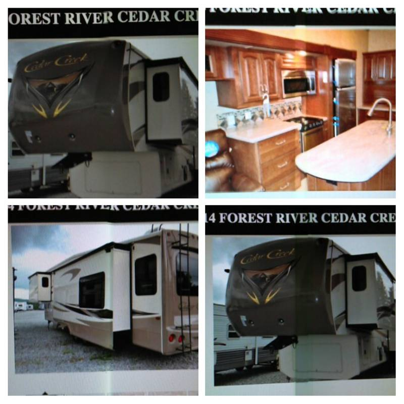 2014 Forest River Cedar Creek 36RE