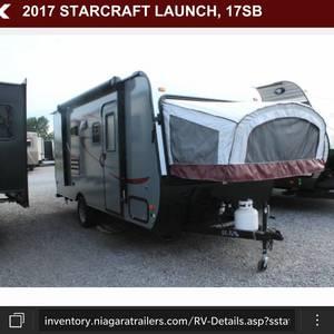 2017 Starcraft Launch 17SB