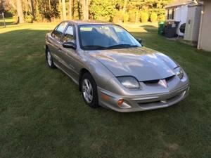 2000 Pontiac  Sunfire 4 door