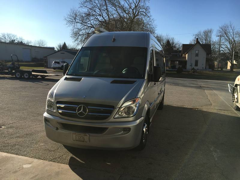 2012 Airstream Mercedes Sprinter Van