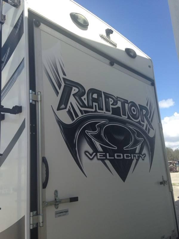 2013 Keystone Raptor Velocity rp395