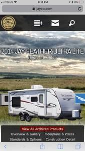 2014 Jayco Jay Feather Ultra Lite X213