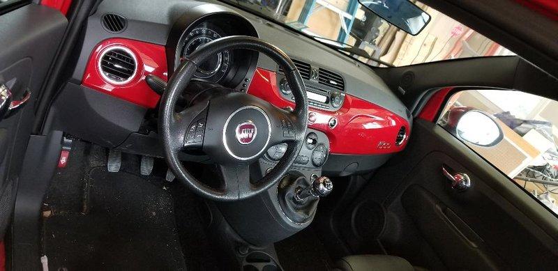 2012 Fiat Fiat 500 Sport
