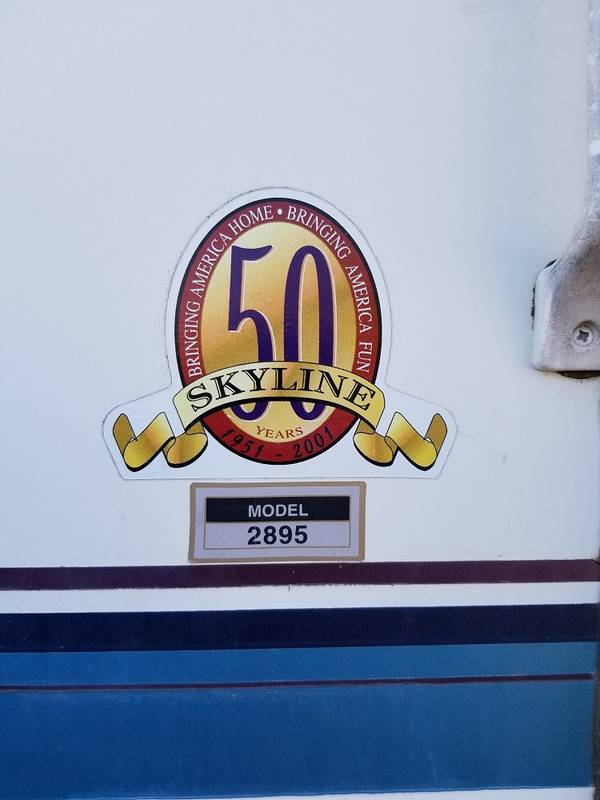 2001 Skyline Aljo 2395