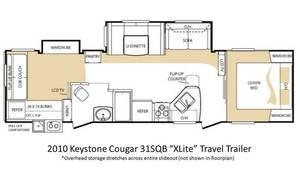 2010 Keystone Cougar X-Lite 31SQB