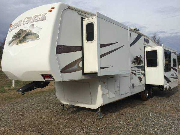2007 Forest River Cedar Creek 36RLTS