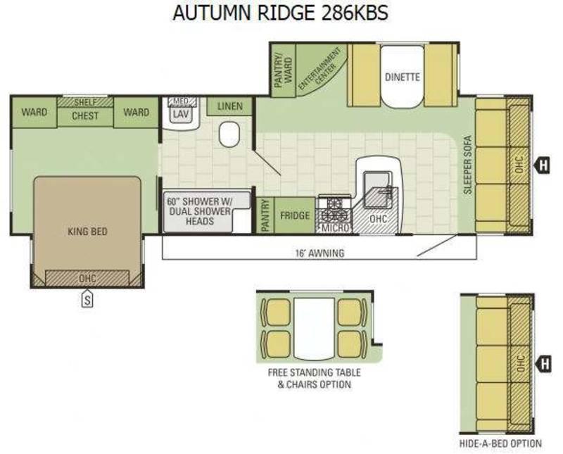 2016 Starcraft Autumn Ridge 286KBS