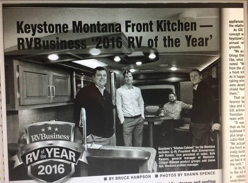 2016 Keystone Montana 3820fk