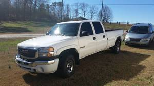 2007 GMC Sierra 3500 SLE single rear wheel ax