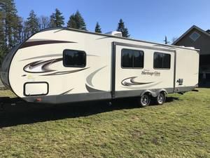 2017 Forest River Wildwood Heritage Glen Hyper-Lyte 26RBHL
