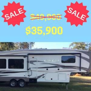 2015 Forest River Cedar Creek Hathaway 34RL