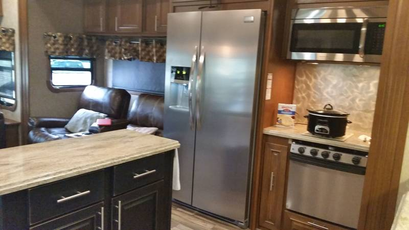 2015 Highland Ridge RV Open Range 3X 349RLS