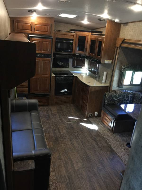 2016 Outdoors RV Glacier Peak F26RKS Wallowa, Platinum edition
