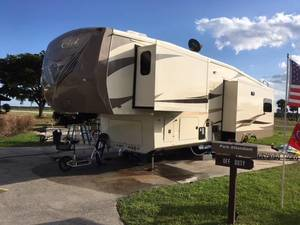 2016 Forest River Cedar Creek Hathaway 36CKTS