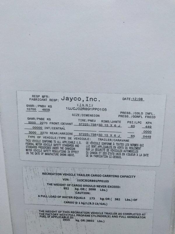 2009 Jayco Eagle Super Lite 28.5BHDS