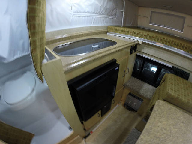 2016 Phoenix Coyote Flat Bed Mounted Truck Campers Rv For