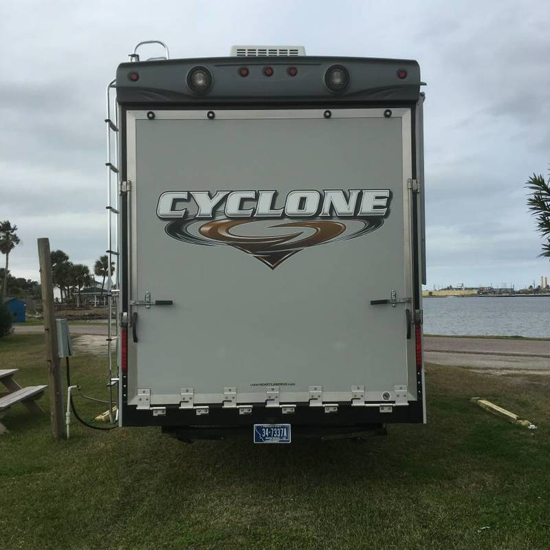 2012 Heartland Cyclone HD Edition 370C