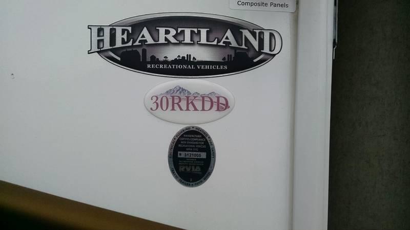2013 Heartland North Trail Calibre Edition 30RKDD