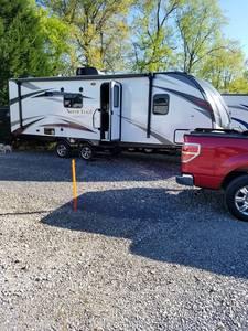 2018 Heartland Caliber North Trail 22fbs