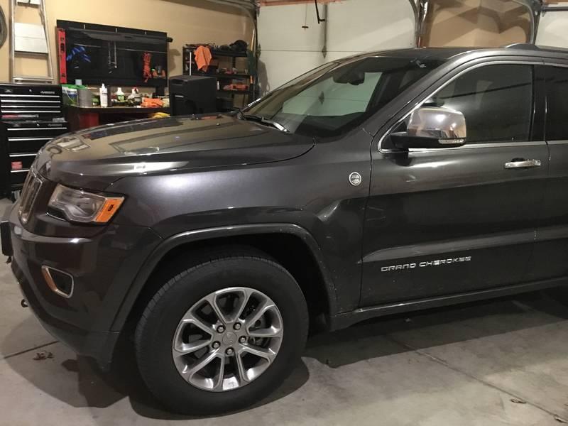 2015 Jeep Cherokee Overland