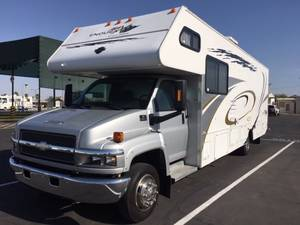 2004 Gulf Stream Endura Max Super C Motor Home, 6361 Floor Plan, Toy Hauler