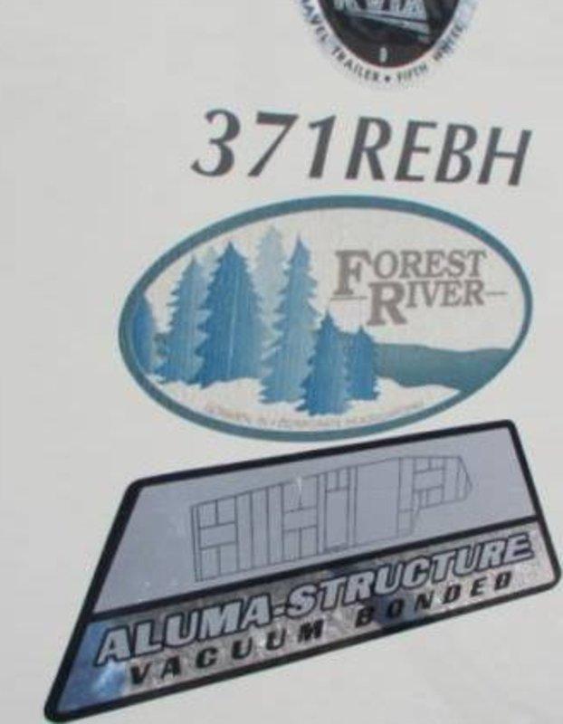 2016 Forest River Sandpiper 371REBH