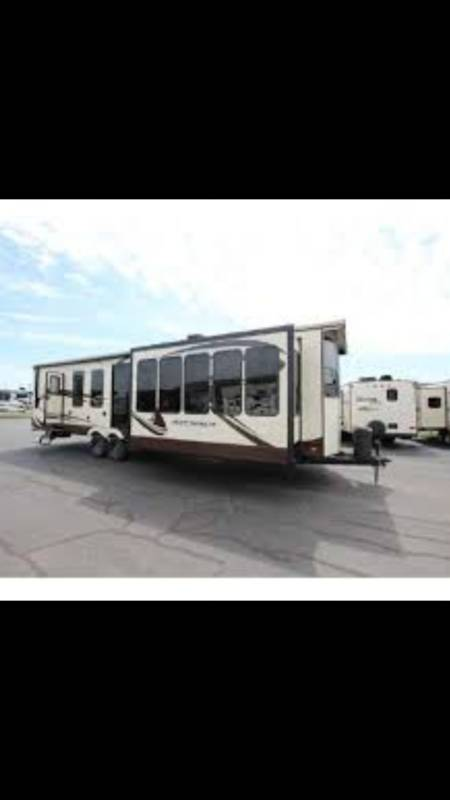 2015 Forest River Sierra Destination 385FKBH