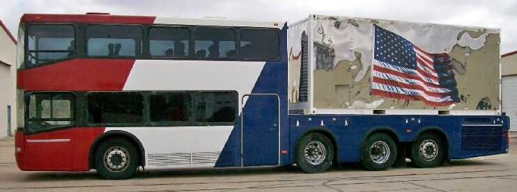 2001 Neoplan Double Decker Intermodel Prototype Bus Bus