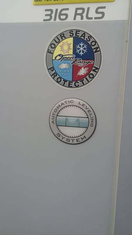 2015 Open Range Mesa Ridge MF316RLS