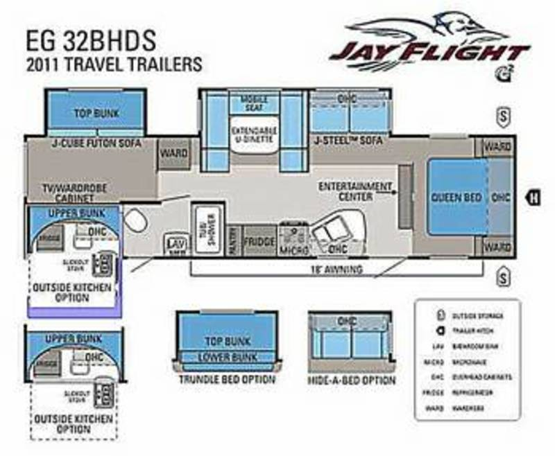 2011 Jayco Jay Flight G2 32BHDS