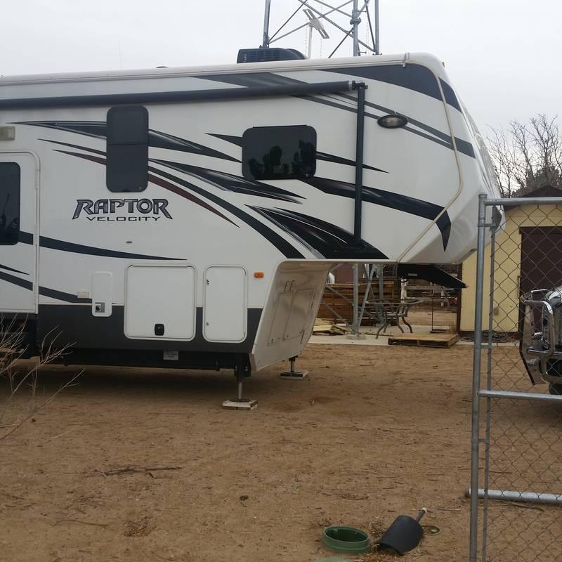 2013 Keystone Raptor Velocity 395LEV