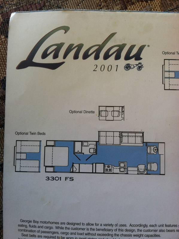 2001 Georgie Boy Landau 3301