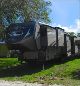 2014 Forest River Sandpiper 355RE